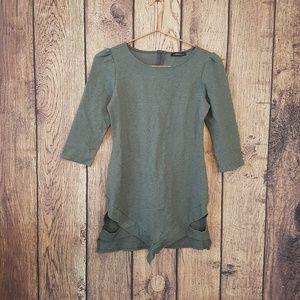 The vintage shop cut out dress Gray Size M